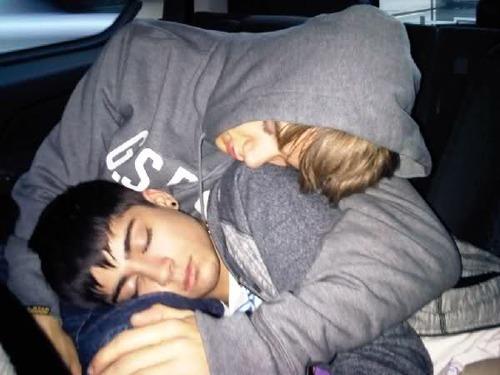 Ziam cuddles
