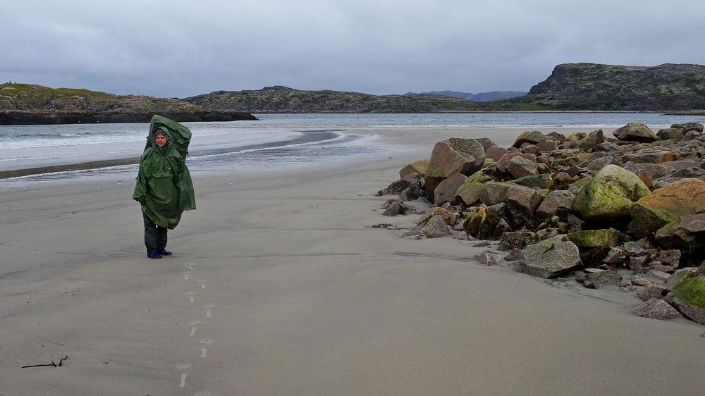Териберка пляж