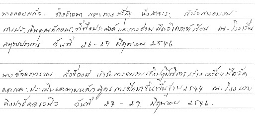 Thai Cursive