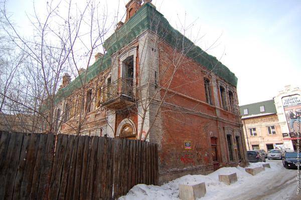 Красноярск. Усадьба Тропина весной 2014 года. Фото: Виталий Чеусов