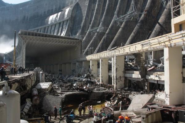 Ликвидация аварии на Саяно-Шушенской ГЭС 2009 года
