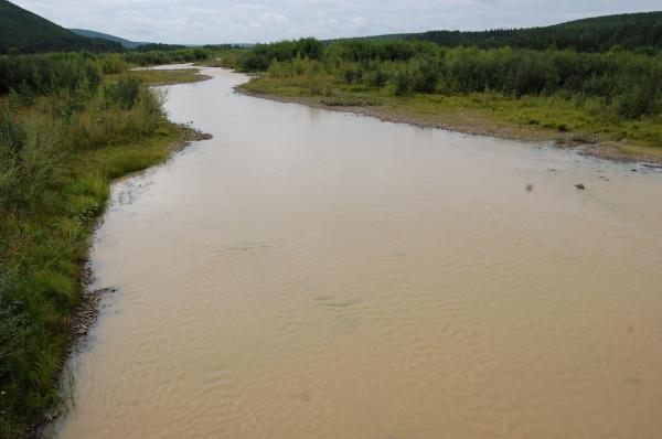 Река Удерей. Фото: Анна Наумова