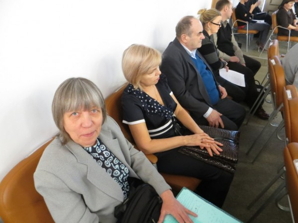 Защитники Березовой рощи на заседании комиссии по градостроительной политики горсовета Красноярска