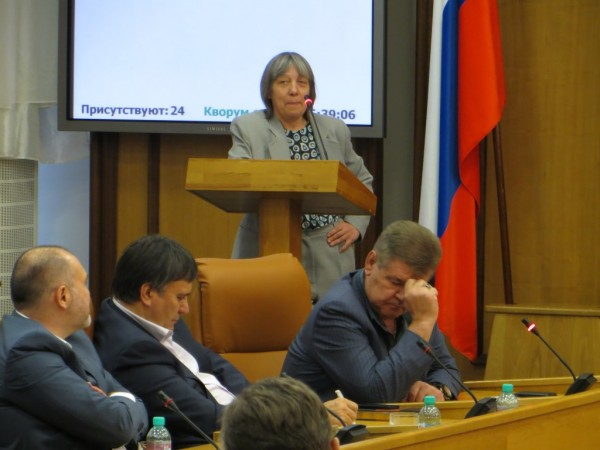 На комиссии по градостроительной политике горсовета Красноярска 09.12.2013