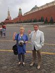 Романова и я на Кр площади июль 2014