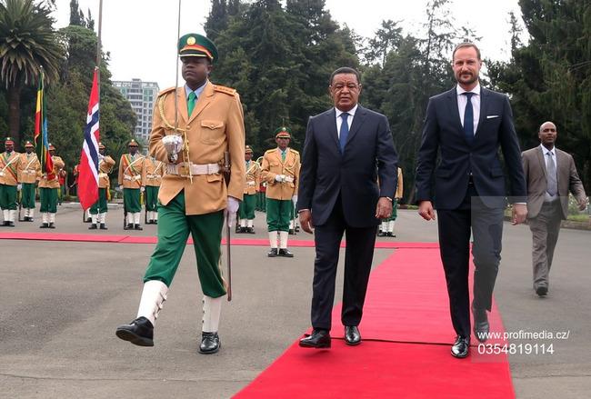 Наследная пара Норвегии встретилась с президентом Эфиопии Мулату Тешоме Вирту
