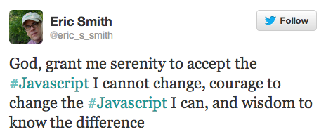Javascript serenity prayer