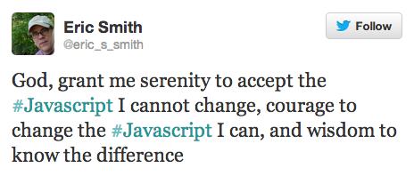 Javascript serenity prayer