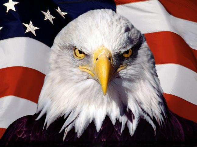 Американский орел времен Рузвельта