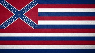Флаг конфедератов США