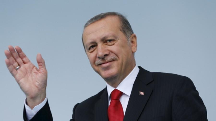 Эрдоган приветствует вас