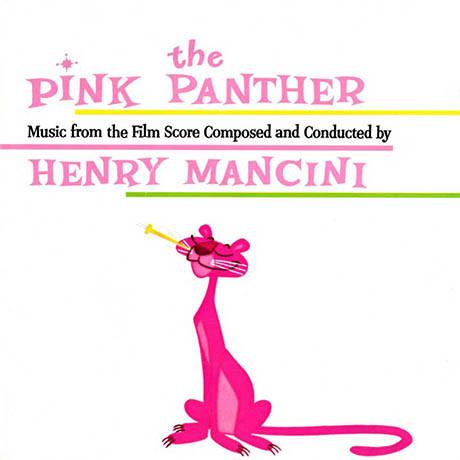 Розовая пантера ноты