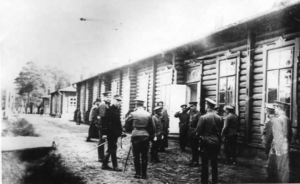 Главы военный миссий при Ставке. Генерал Оба.1914