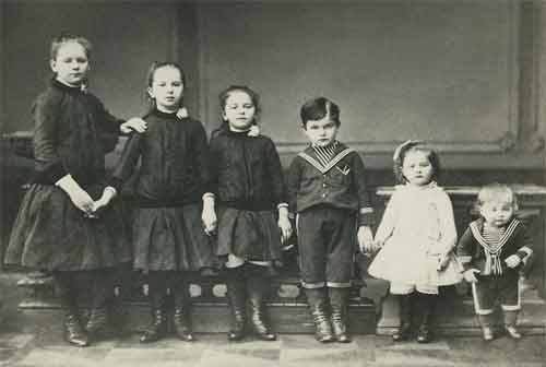 Дети А.В.Бари. Москва. 1889