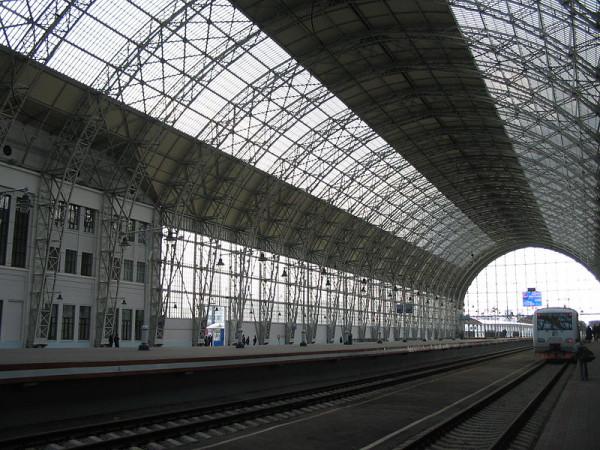 Шуховский деборкадер на Киевском вокзале