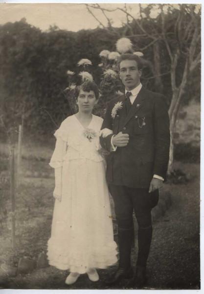 Болотов с женой