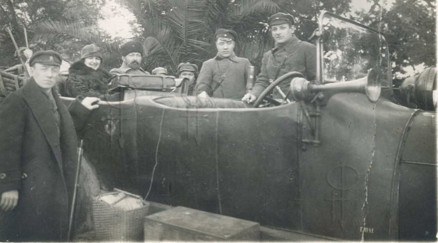 Дзержинский инспектирует органы ВД Грузии