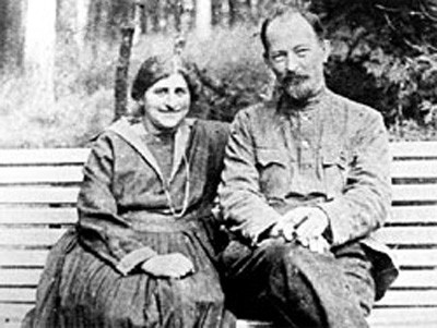 Дзержинский с женой