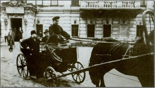 Луначарский, выезд 1918