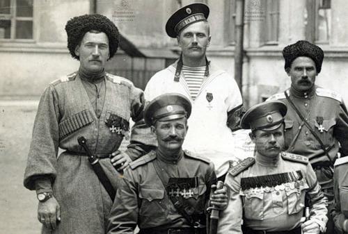 Георгиевские кавалеры 1917