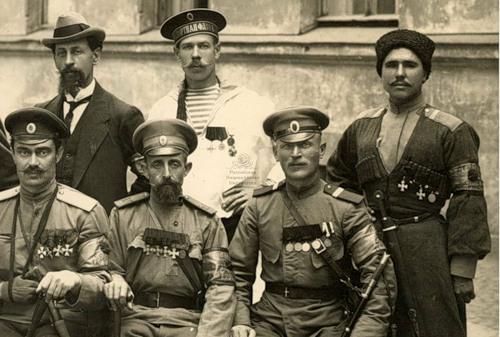 Георгиевские кавалеры 1917 1