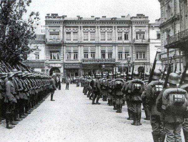 Немцы в Киеве 1918