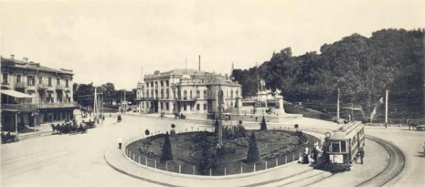Киев. Царская площадь.(ныне Европейская)