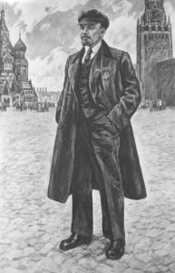 Никонов М.Ф. Ленин на КП