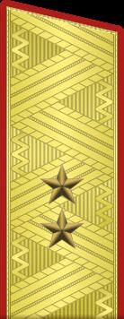 Погон генерал-лейтенанта Советской армии
