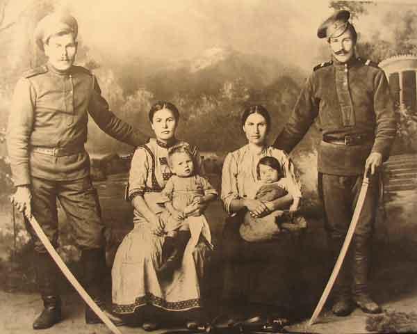 Казаки Уссурийского войска. 1916 г.