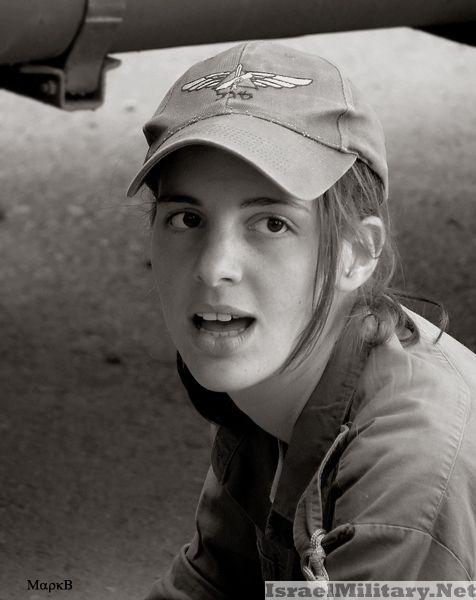 israel army girl razinuv  rot