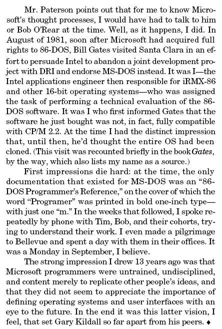 John Wharton Intel-Microsoft