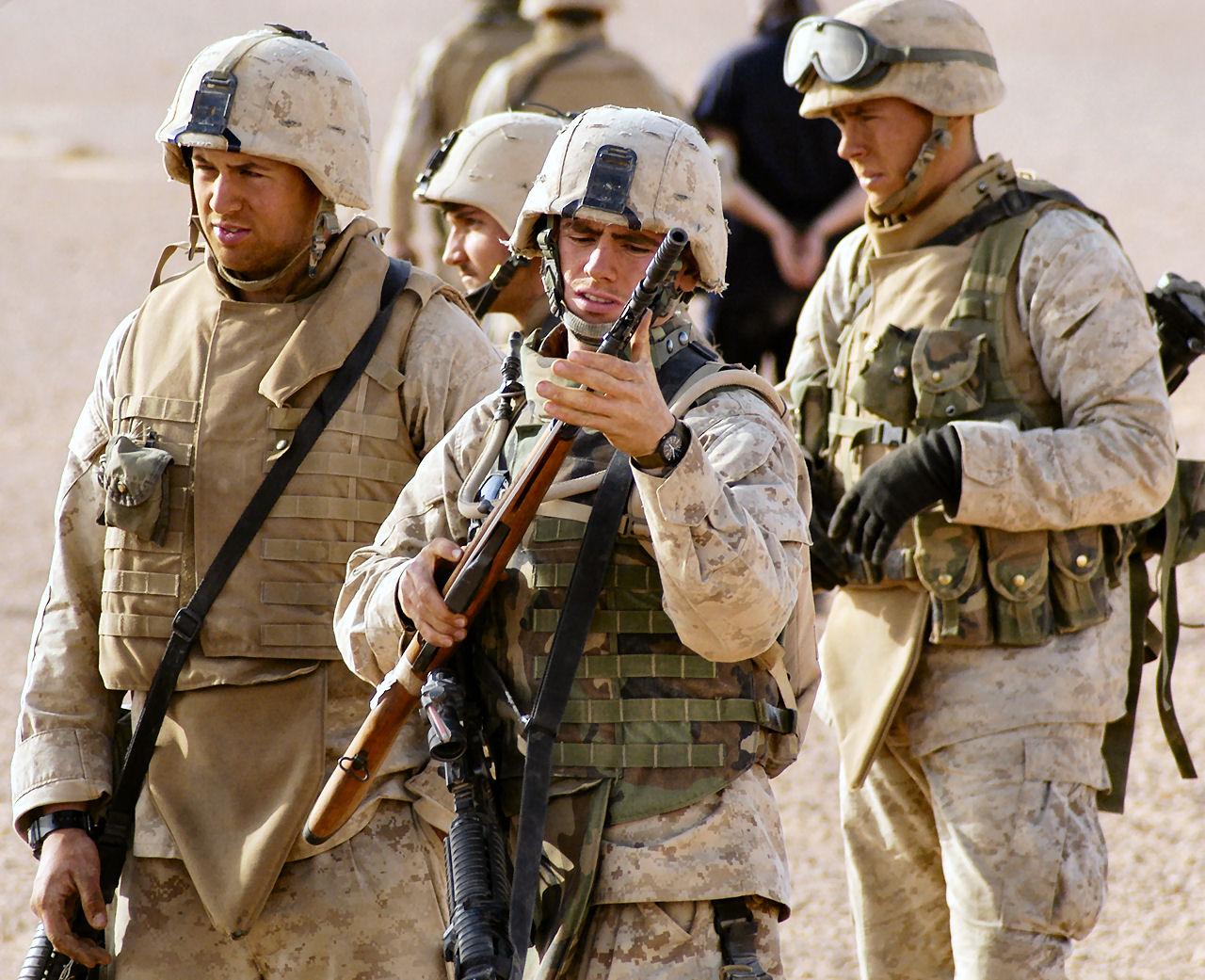 marines rifle