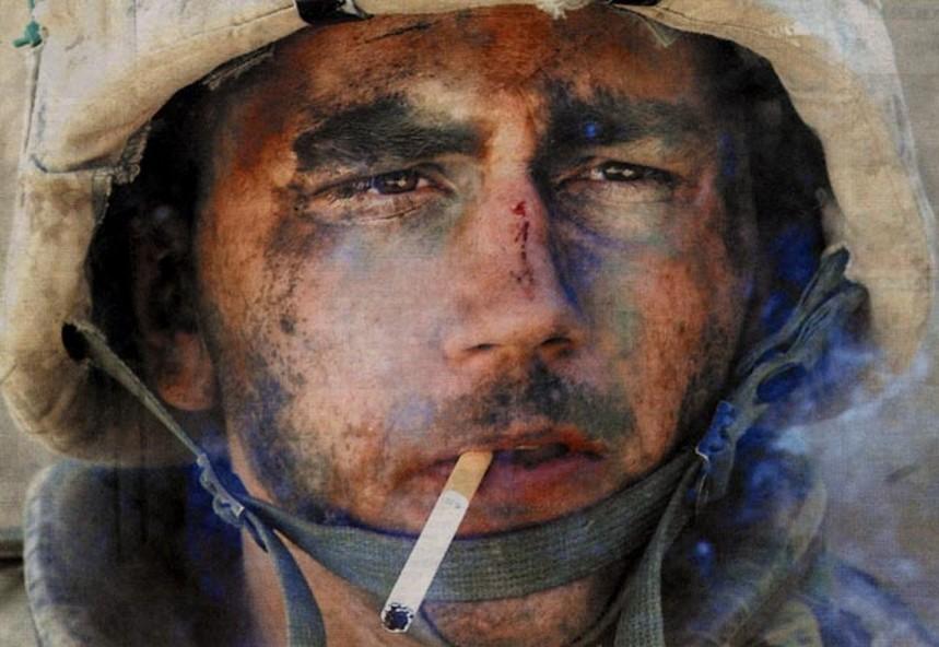 marines smoke