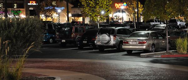 748 parking lot