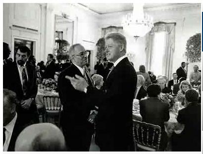 Bill Clinton & Rev. Wright