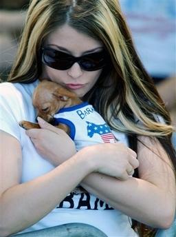 obama girl cat