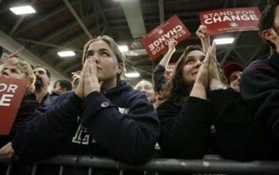 obama believers girls