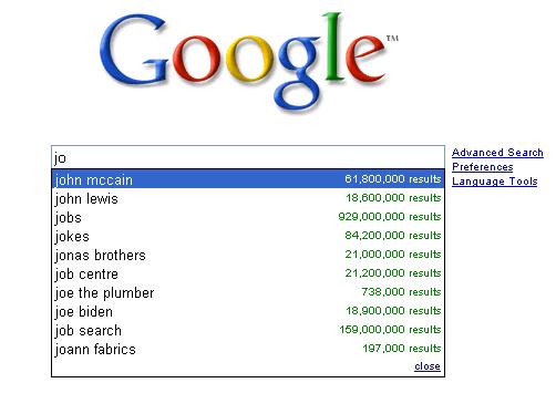 jo google joe