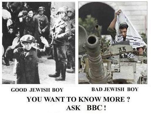bad / good jews ask BBC