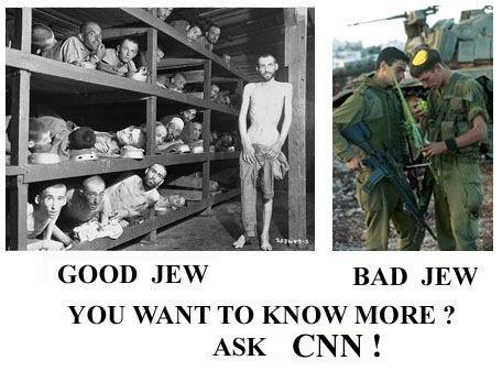bad / good jews ask CNN