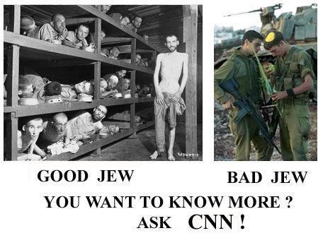 bad / good jews ask CNN