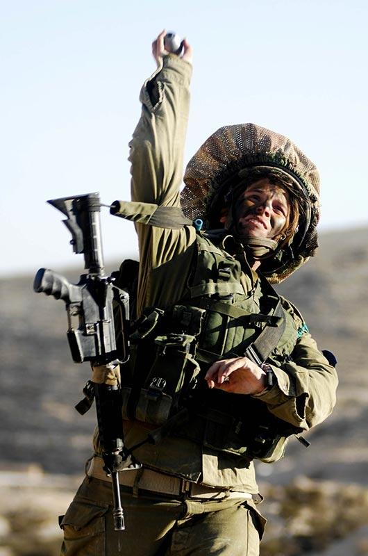 jew woman grenade