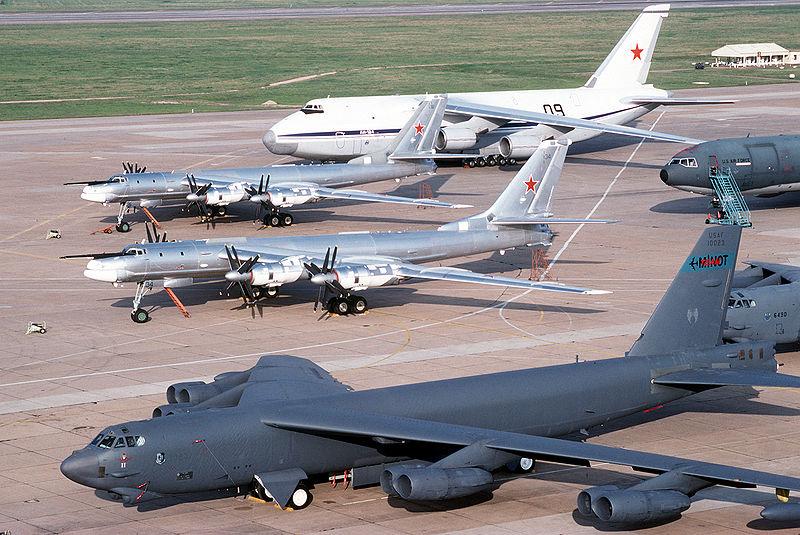 Tu-95 and B-52