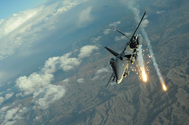 f-15 afgan launching missiles  Febr 09