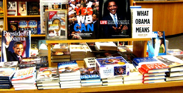 bunch Obama's books