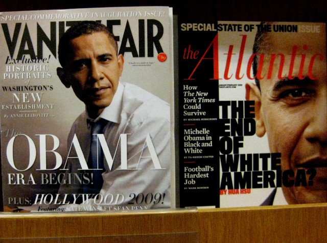 2 Obama's magazines: Era begins ...