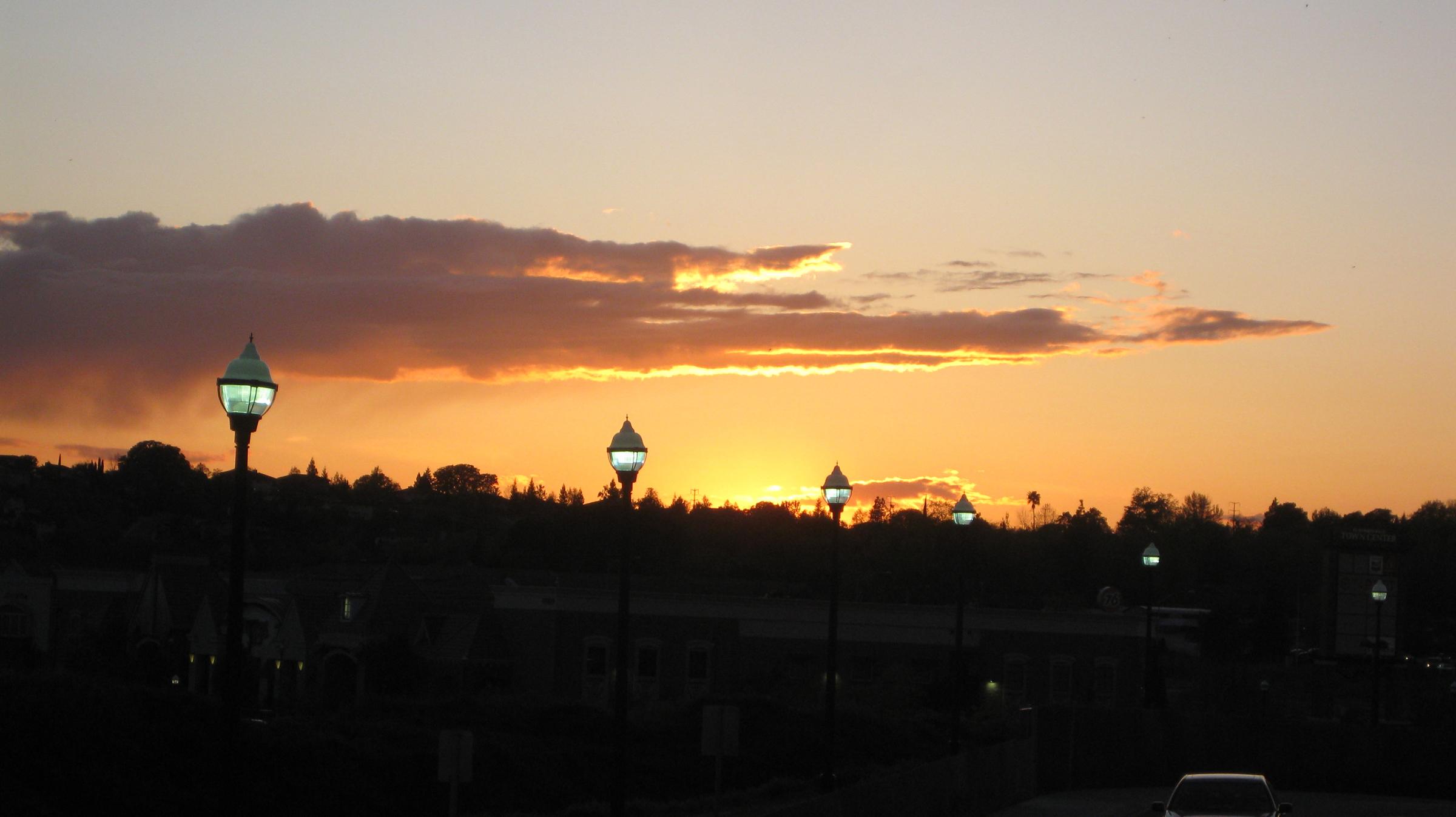 sunset 041009