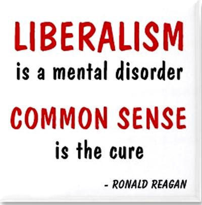 Liberalism desorder. Reagan