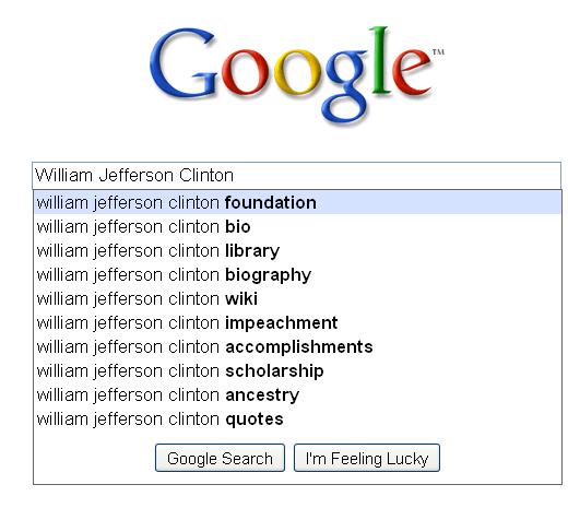 William Jefferson Clinton  - Google